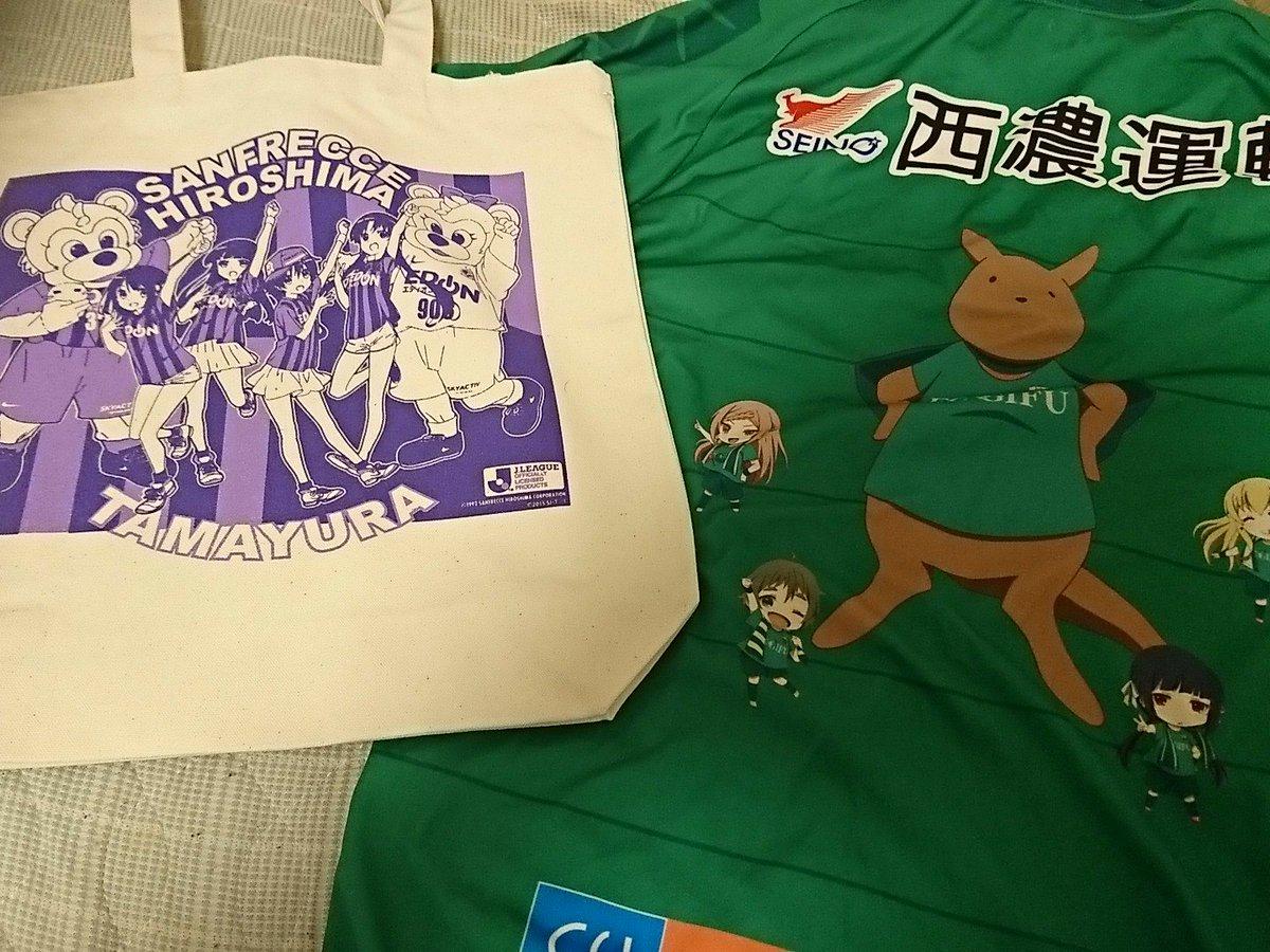 天皇杯3回戦サンフレッチェ広島(たまゆら)vsFC岐阜(のうりん)の対戦の決定を記念して。