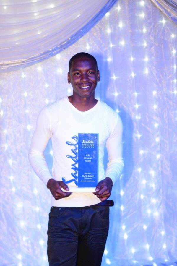 2016 Grenada Sandals Diamond Winner Curtis Bailey: An Inspiration in the Tourism Industry