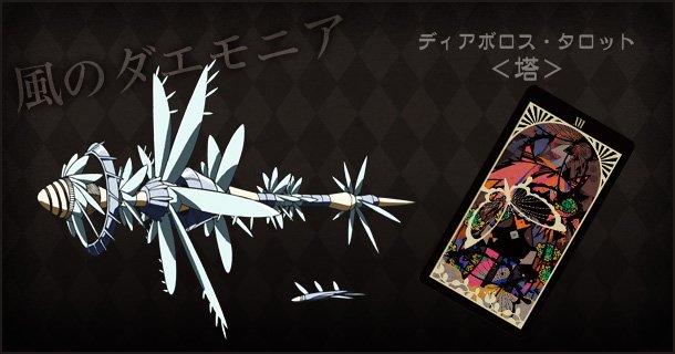 「幻影ヲ駆ケル太陽」の敵集 3ダエモニア(敵)の名前「風」「文字」「飛行機」「水」w