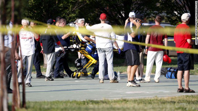 FBI holds a press conference with latest on shooting at GOP baseball practice. Watch live