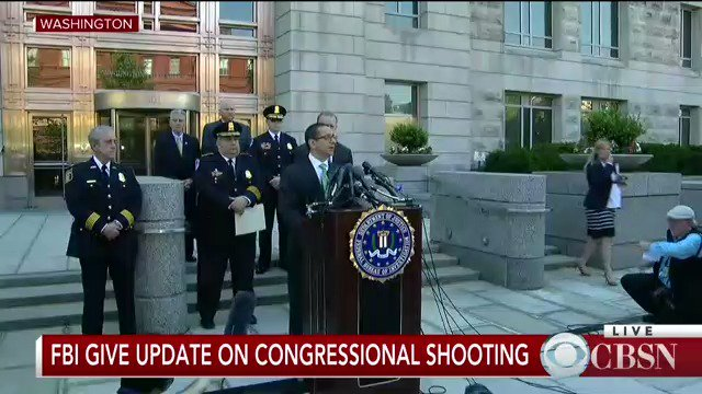 WATCH LIVE: The FBI gives an update on the congressional shooting in Alexandria, Va.