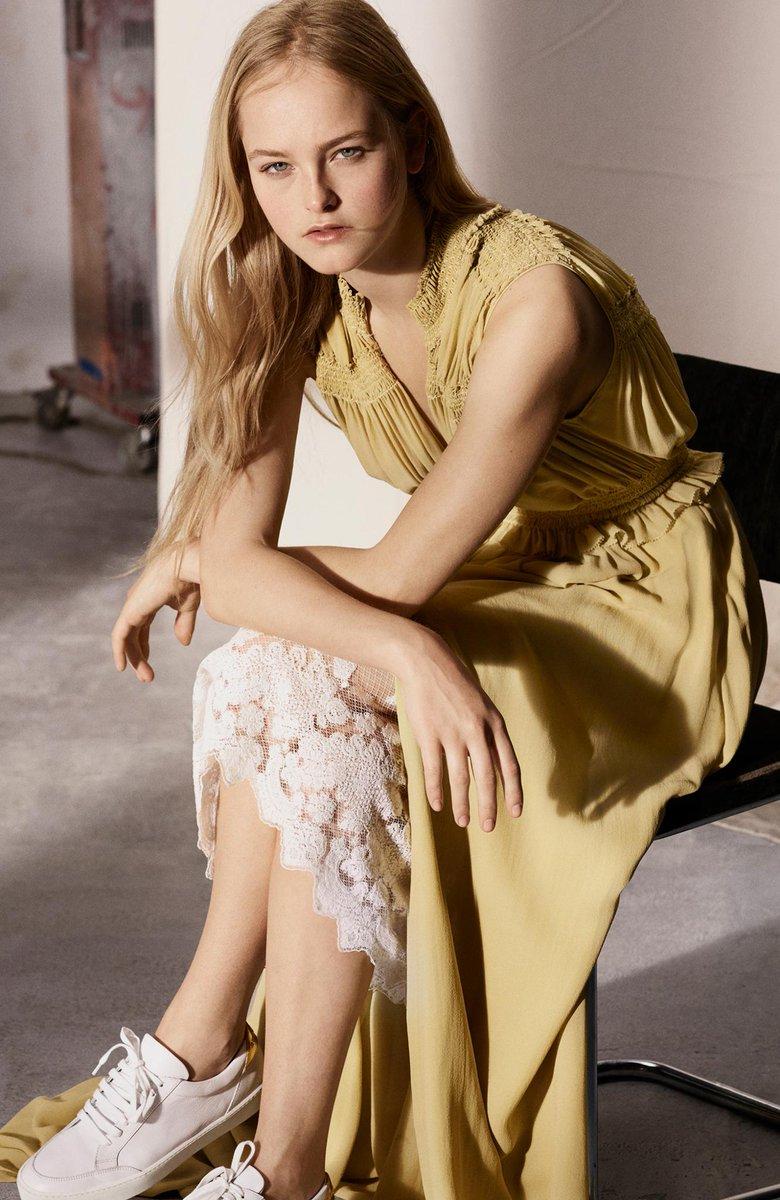 Jean Campbell wears our floor-sweeping dress in featherweight silk georgette https://t.co/aJfs0pJTjX https://t.co/bOmuJ4f6XJ
