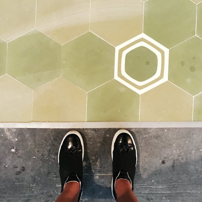 Stepping into a new chapter! The tiles of our brand new Bankside restaurant opening soon!