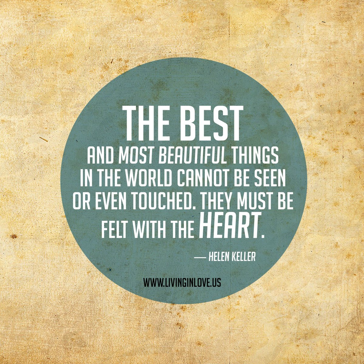 The best and most beautiful things must be felt with the heart.  #EFT #LOVE #Relationship #Connection https://t.co/gVDPwsQB3s