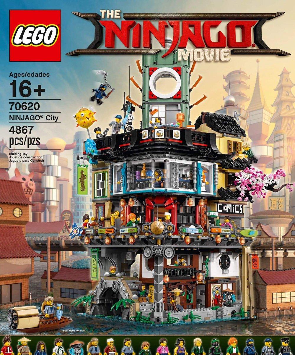 いやいやガチでサイバーパンク感とレゴのシリーズのカオスさが出てるしパーツもやばそうだし欲しい ニンジャゴーほとんど知らん