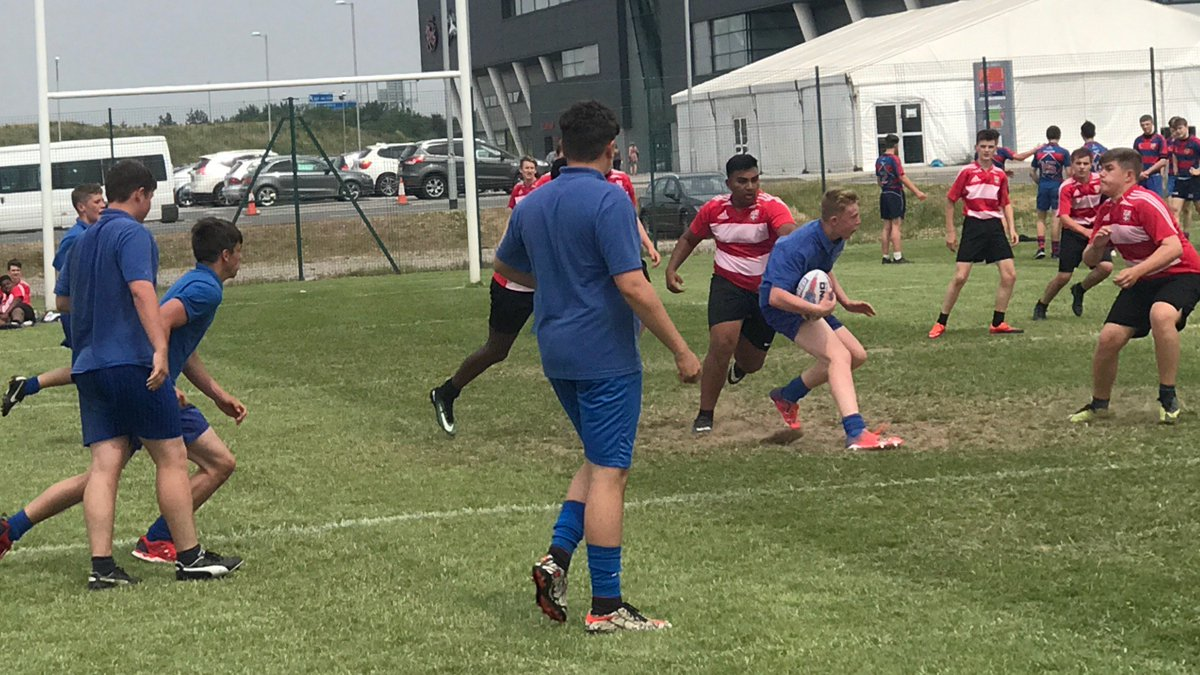 test Twitter Media - A few action shots from the year 10 rugby tournament. #skytry @SalfordDevils https://t.co/raTuQpgeb6