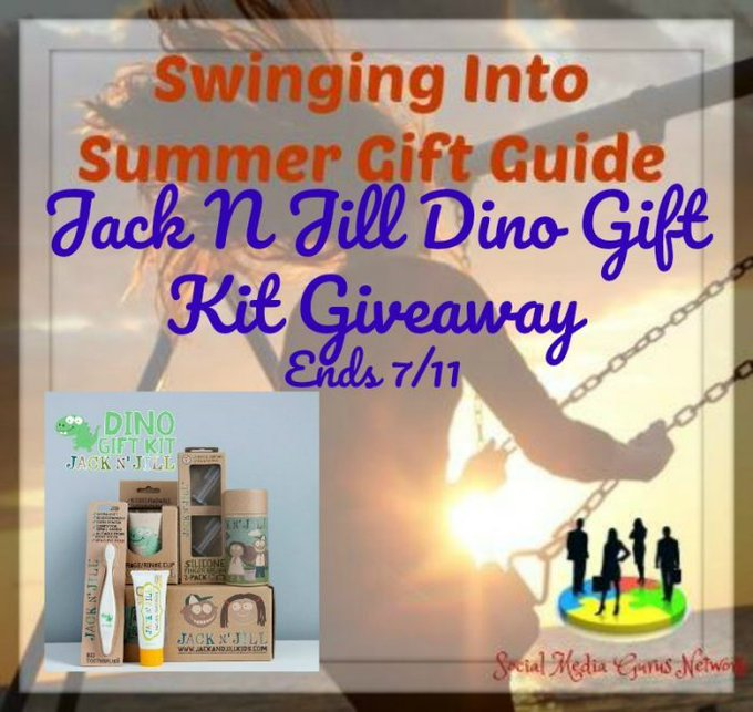 From @jacknjill @SMGurusNetwork Jack'N'Jill Dino Gift Kit #Giveaways via @Adriana1954 ends July 11.17