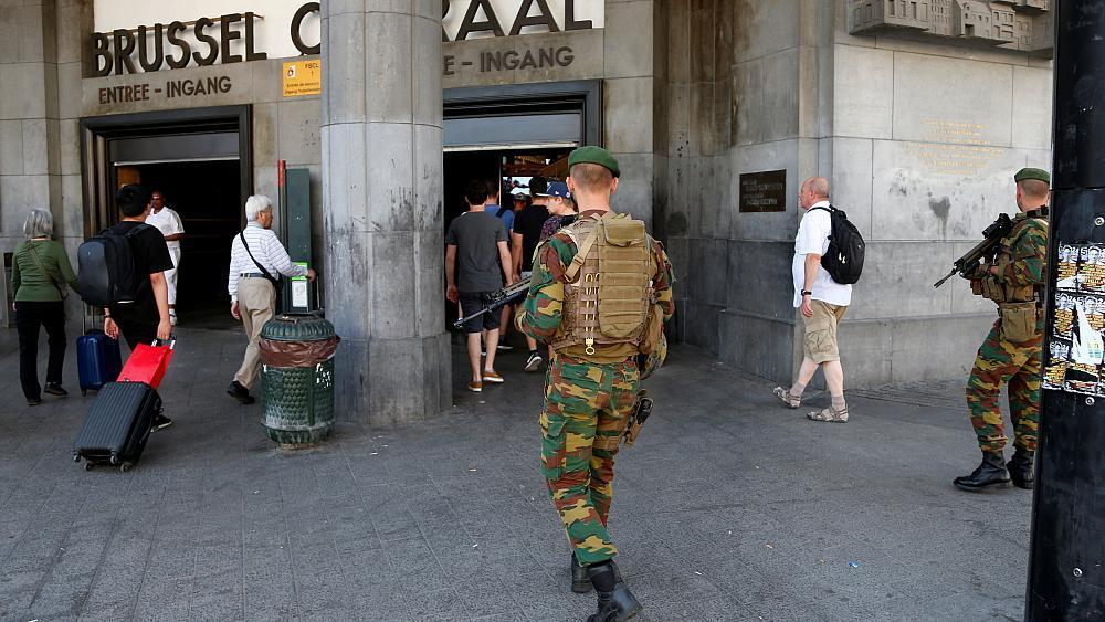 Brussels station attacker 'had ISIL sympathies'