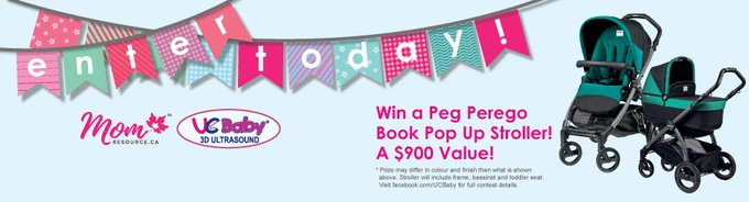 #WIN a Peg Perego Book Pop-Up Stroller Set [8/31]