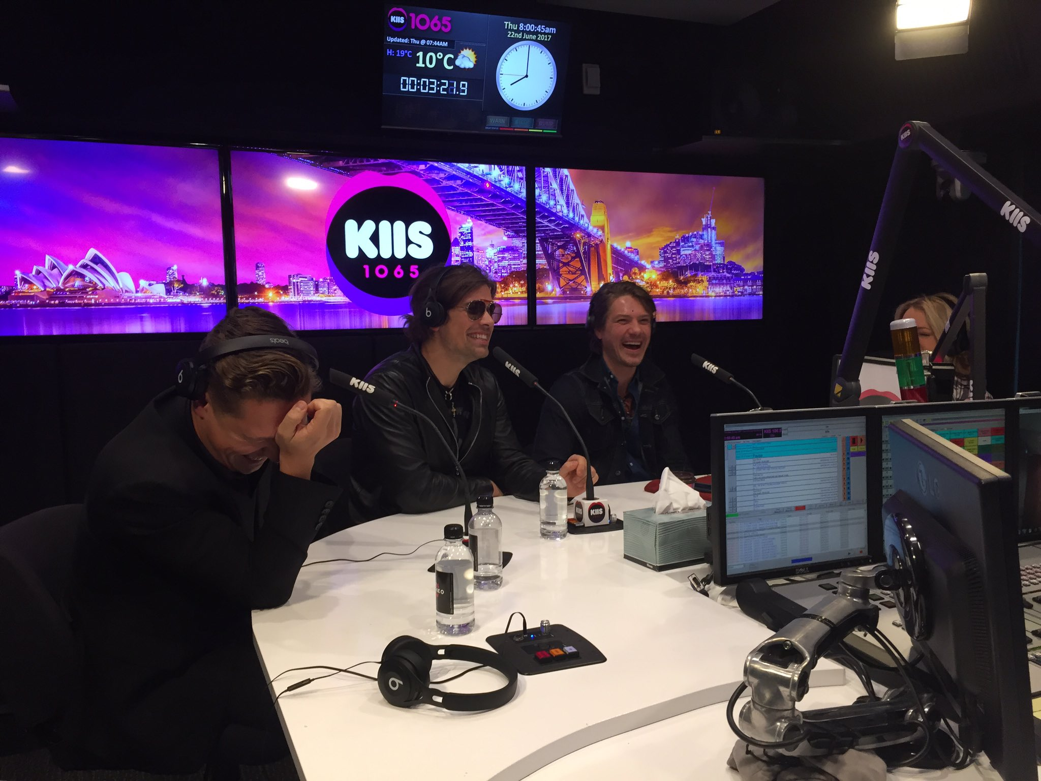 Live on @kyleandjackieo now! Tune in to @KIIS1065 https://t.co/T7Pq3Gobrz