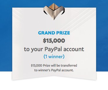 PayPal $15,000 Super Giveaway