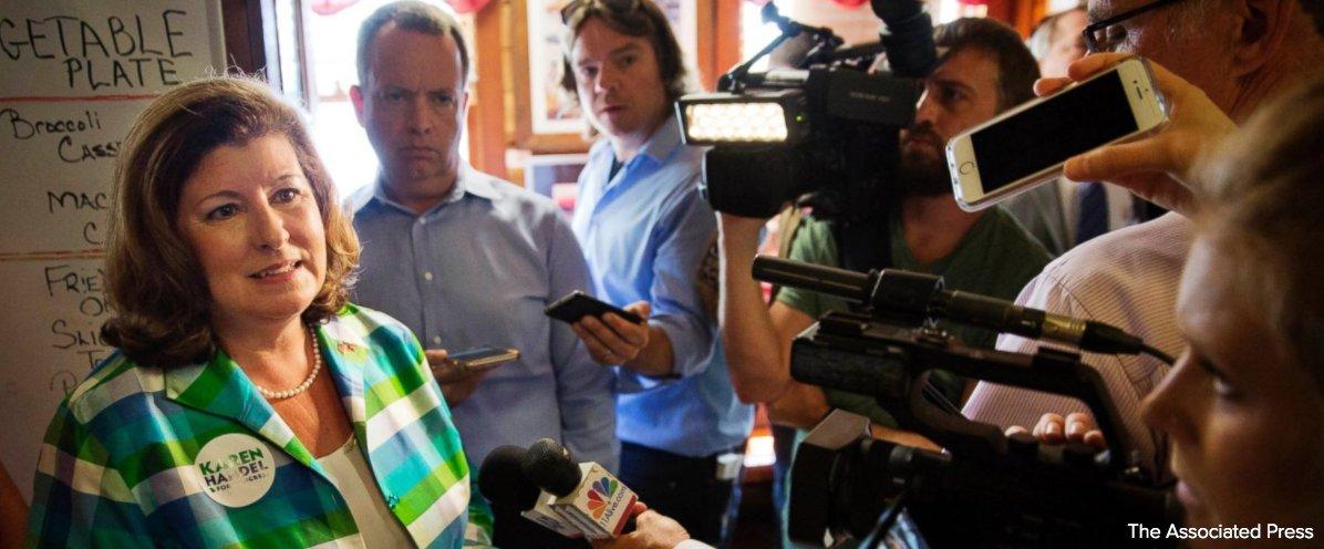 Republican Karen Handel will make history as Georgia's first GOP Congresswoman.