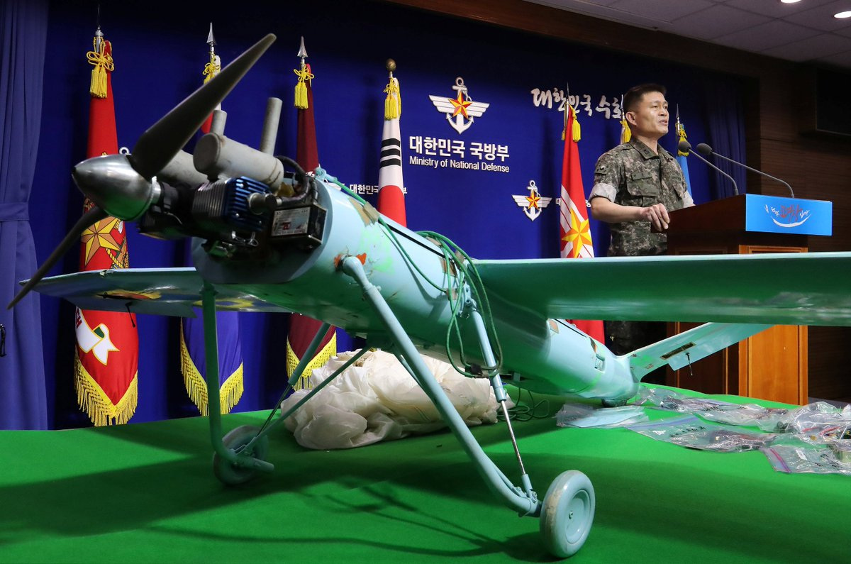 North Korea is invading South Korea with spy drones, but they keep crashing