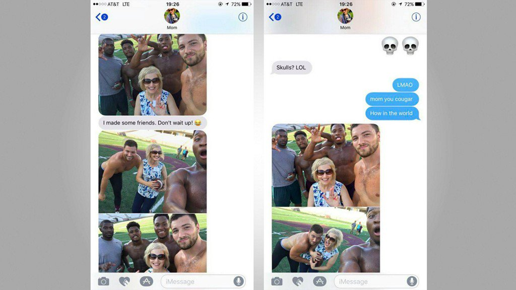 Mom ditches daughter at college orientation, poses with football players https://t.co/8kSPd2WzMy https://t.co/yiDUoscPQf