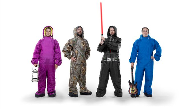 Giveaway – Selk'bag Wearable Sleeping Bag – Ends 7/14/17