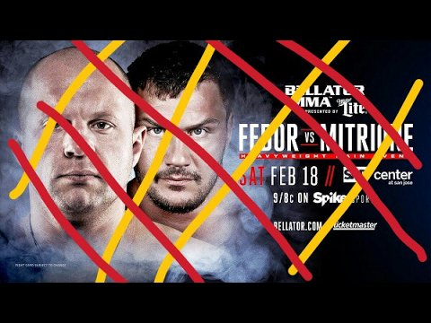Fedor vs Mitrione cancelled & other MMA / UFC News... source ...https://t.co/4txostYvrc https://t.co/lyMJFRebqS