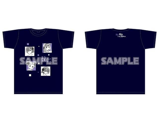 【商品③】同じく『Re:ゼロから始める常夏生活in渋谷マルイ』より、夏にぴったりな商品、「常夏のTシャツ(サイズ:M・L