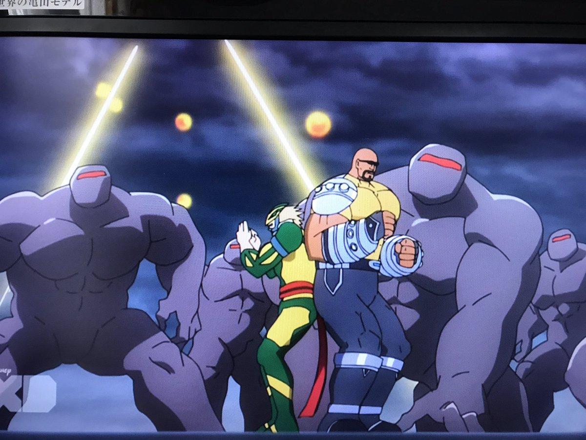 ディスク・ウォーズ:アベンジャーズは本当に最高のアニメ。ここのシーン大好きすぎる。今、泣いてる…笑パワーマンとアイアンフ