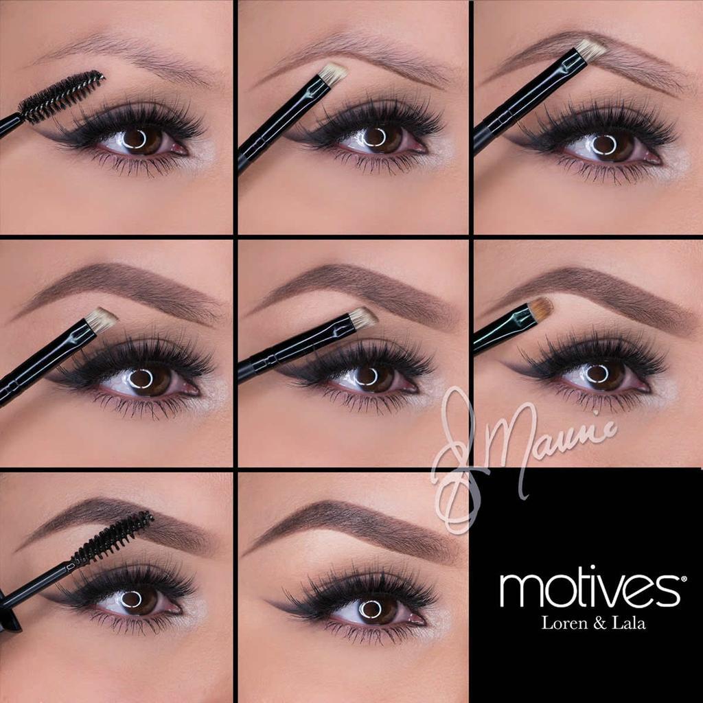 Как накрасить брови карандашом поэтапно фото макияж для начинающих
