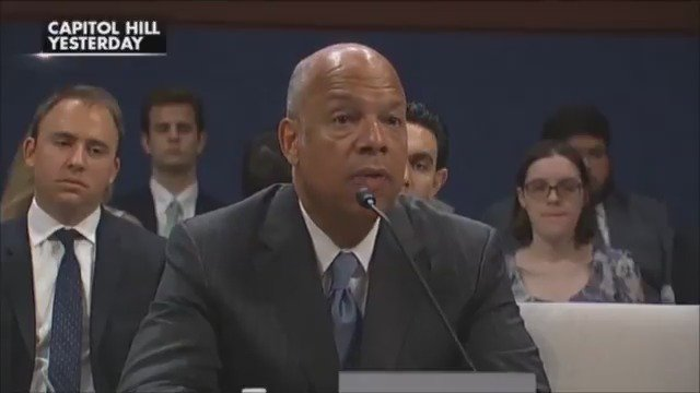 Former DHS Sec. Jeh Johnson testifies that no votes were altered or suppressed by Russians