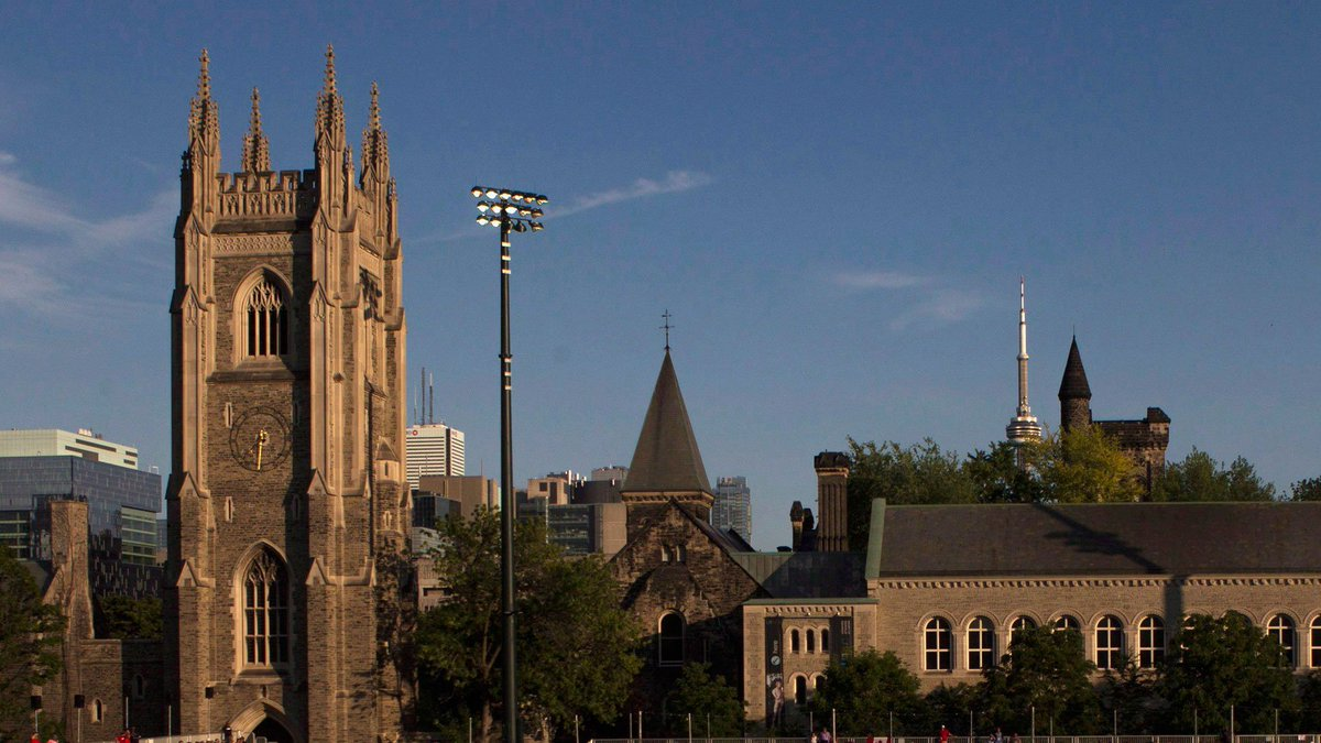 University of Toronto gets ready for graduation ceremony today for black students