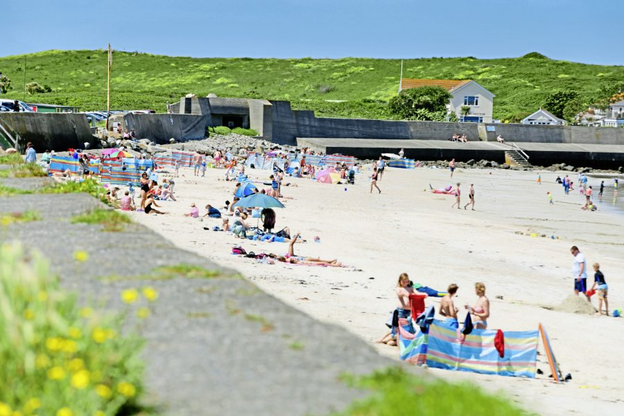 Heatwave to end as Met Office forecasts change « Guernsey Press