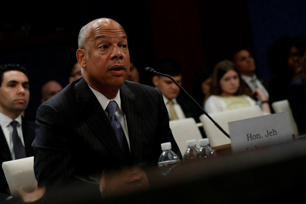Jeh Johnson says FBI delayed notification of DNC cyberattack