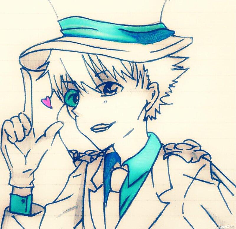 ポイッヽ( ̄▽ ̄)ノ#名探偵コナン #絵描きさんと繋がりたい
