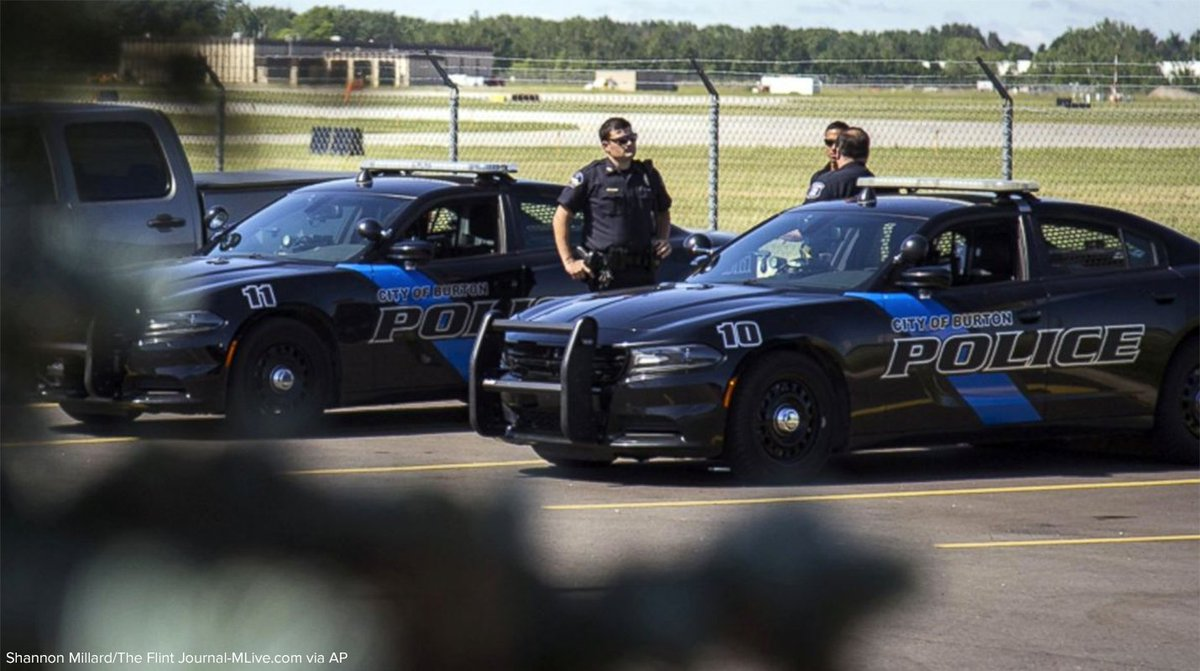 Stabbing of officer at Michigan airport being investigated as act of terrorism, FBI says.