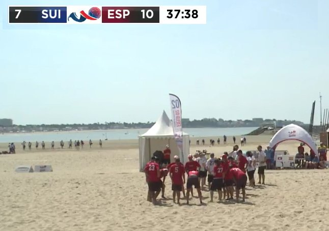 Time-Out #Switzerland at 7:10  #WCBU2017 #MMIX #SUI #ESP https://t.co/varANPU3Su <a href='https://twitter.com/RedisUltimate/status/877828795478056961/photo/1' target='_blank'>See original »</a>