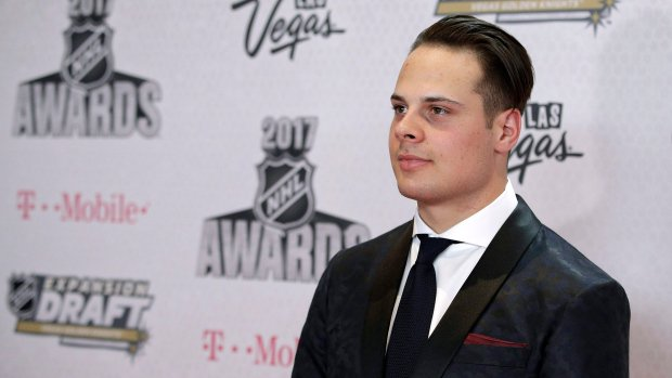 ICYMI:  Leafs centre Auston Matthews wins Calder as NHL's top rookie