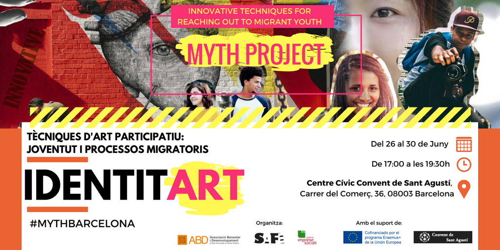 test Twitter Media - 👫🌍La setmana que ve comença el #MYTHBarcelona, tècniques d'art participatiu per treballar amb joves en processos migratoris. Are you in⁉️ https://t.co/AMjsW6GCBM