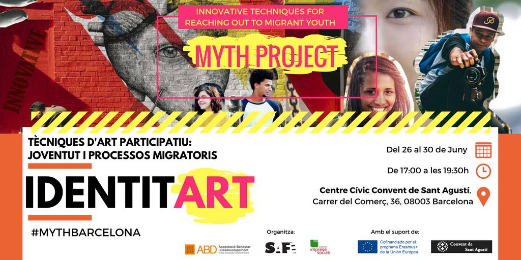 test Twitter Media - 👫🌍La setmana que ve comença el #MYTHBarcelona, tècniques d'art participatiu per treballar amb joves en processos migratoris. Are you in⁉️ https://t.co/AMjsW6GCBM