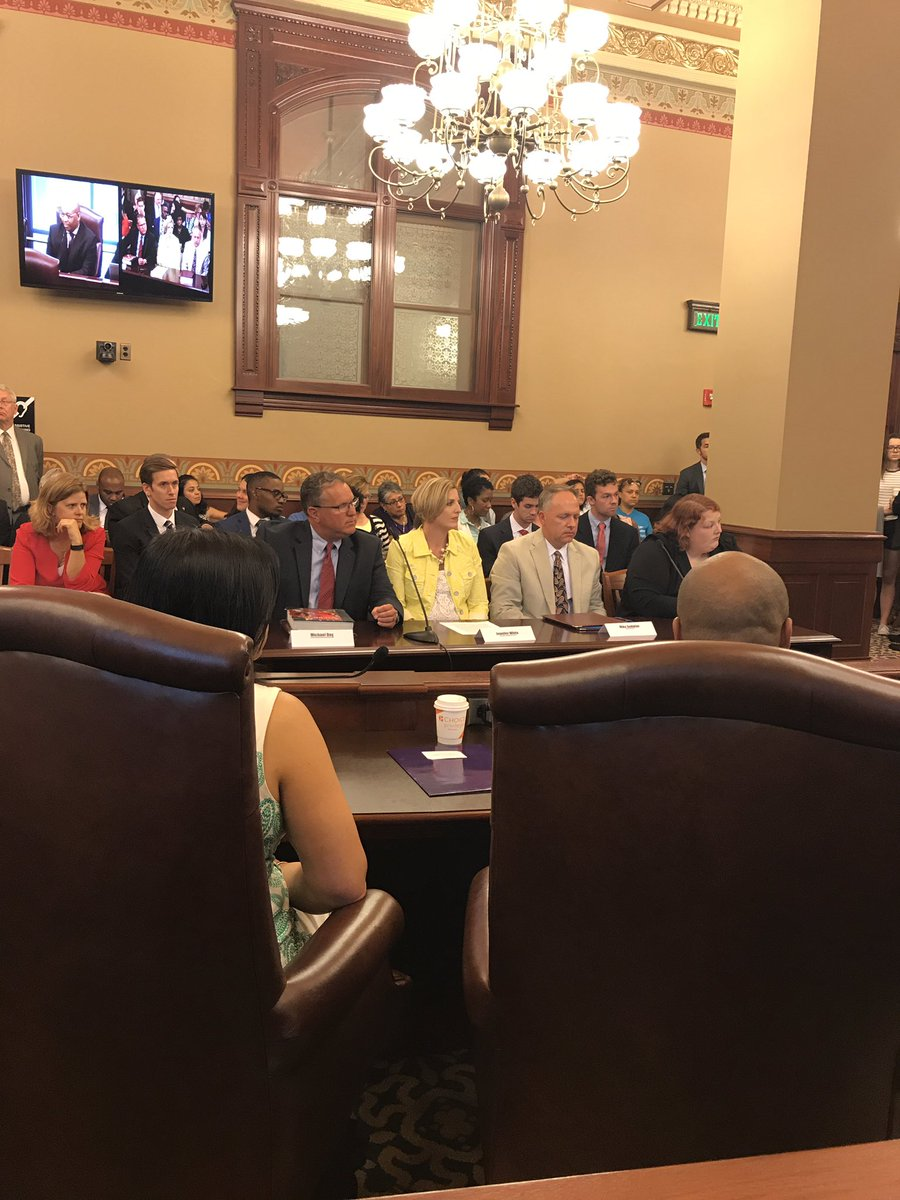 test Twitter Media - Panel of teachers testify in House Elementary and Secondary Education Approps Committee about how budget impasse is destroying IL schools. https://t.co/EkA60DmmUF