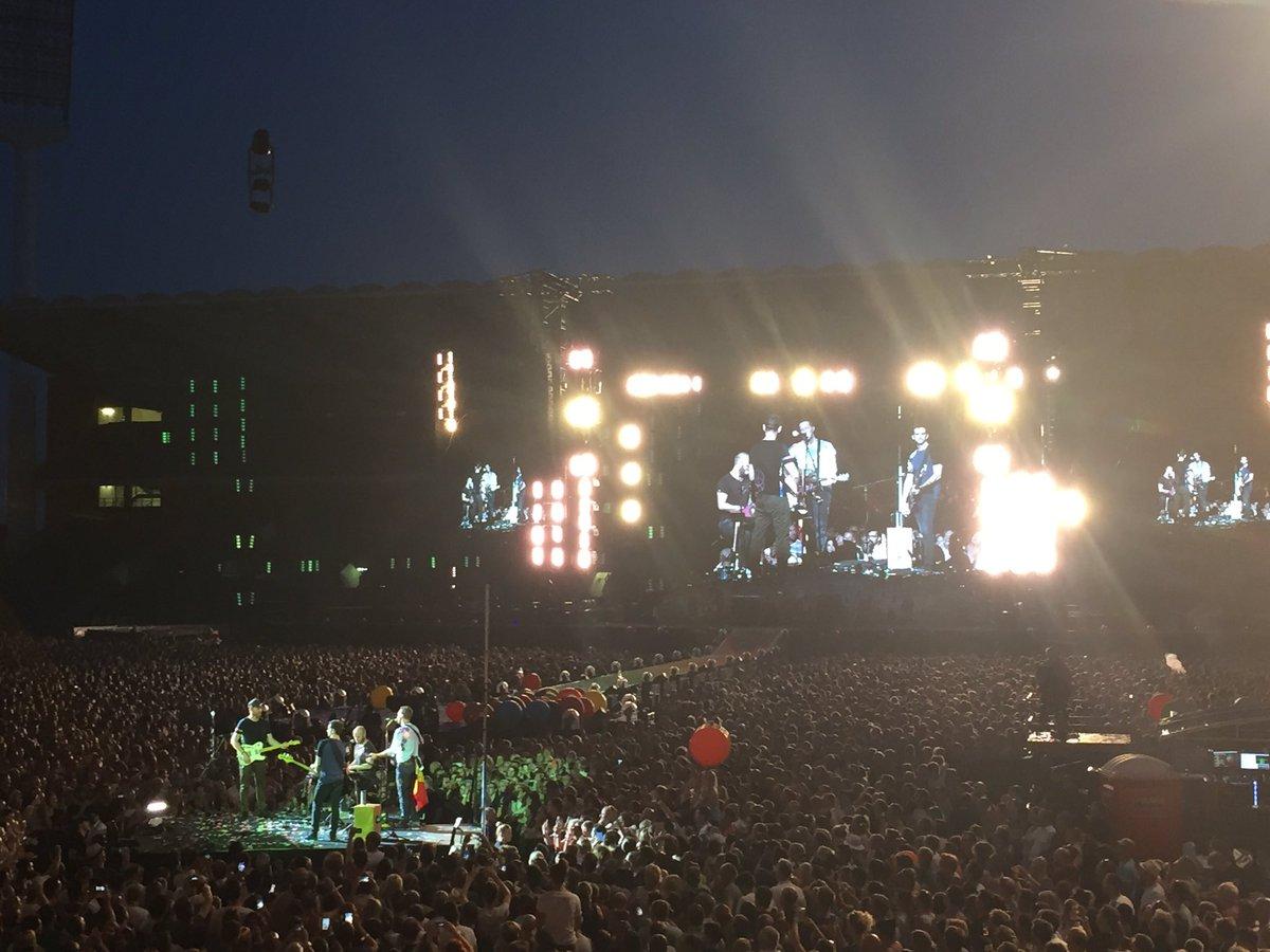 test Twitter Media - Het gaat er niet om hoe lang een mooi moment duurt. Het gaat erom hoe lang je van een mooi moment kan nagenieten. #ColdplayBrussels https://t.co/rkNkqNUfwJ