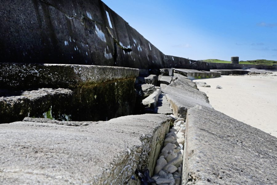 E&I reject deputy's call for L'Ancresse wall debate « Guernsey Press