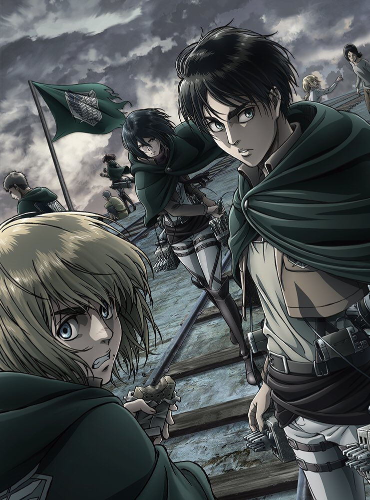 TVアニメ「進撃の巨人」Season 2 Blu-ray/DVD Vol.1発売中です!!Vol.2は8月18日発売とな