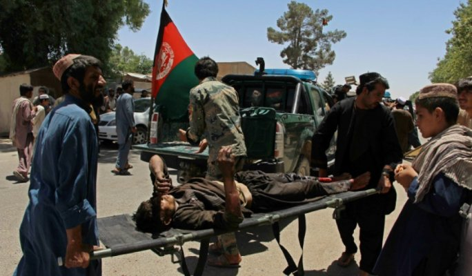 At least 29 dead as car bomb hits bank in Afghanistan