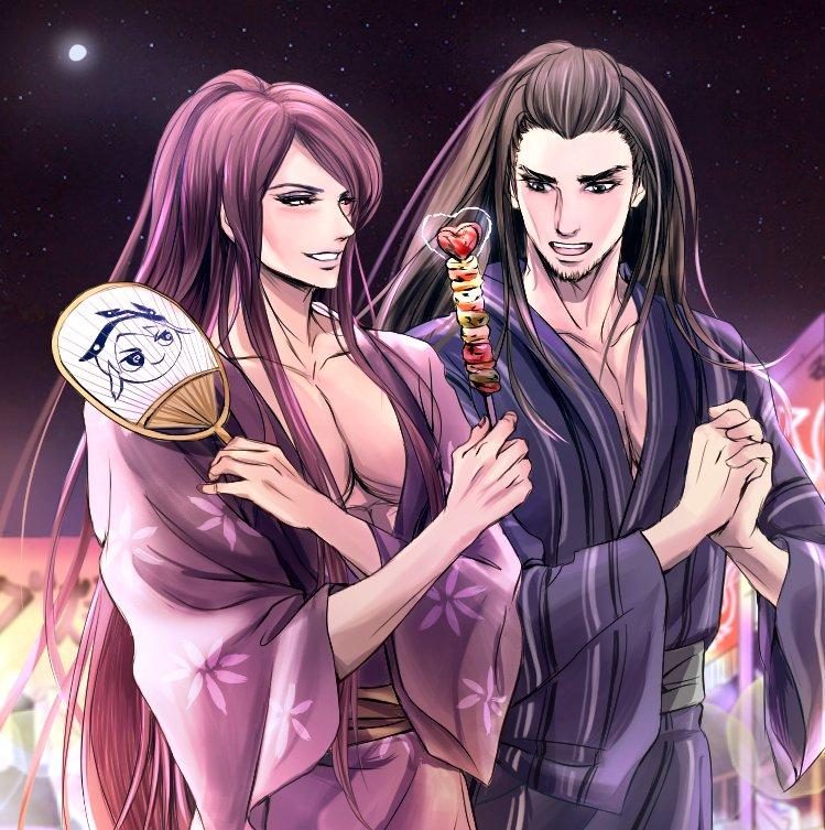 It's the Himeji Yukata Festival (姫路ゆかたまつり)!Here is 無生 feedin
