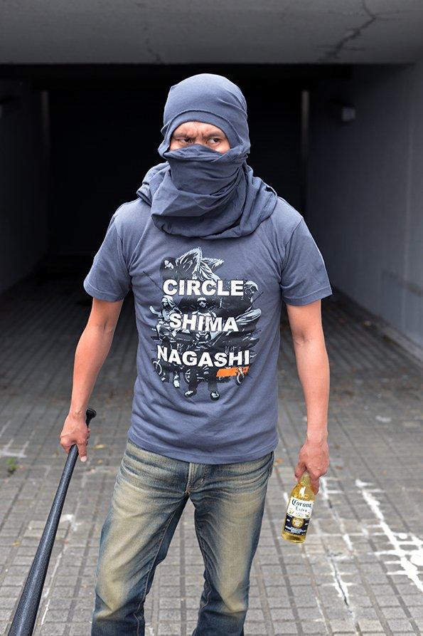 コンクリートジャングルにはシマナガシTシャツ!ニンジャスレイヤー ロンゲスト・デイ・オブ・アマクダリ (上)ebtenD