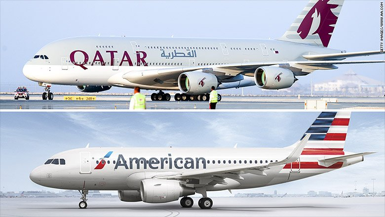Qatar Airways wants to buy a big chunk of American Airlines