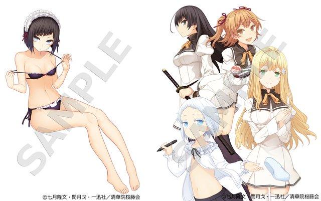 【ニュース】TVアニメ『庶民サンプル』ブルーレイボックスが10月3日発売! キャラクター原案・閏月戈先生の描き下ろし三方