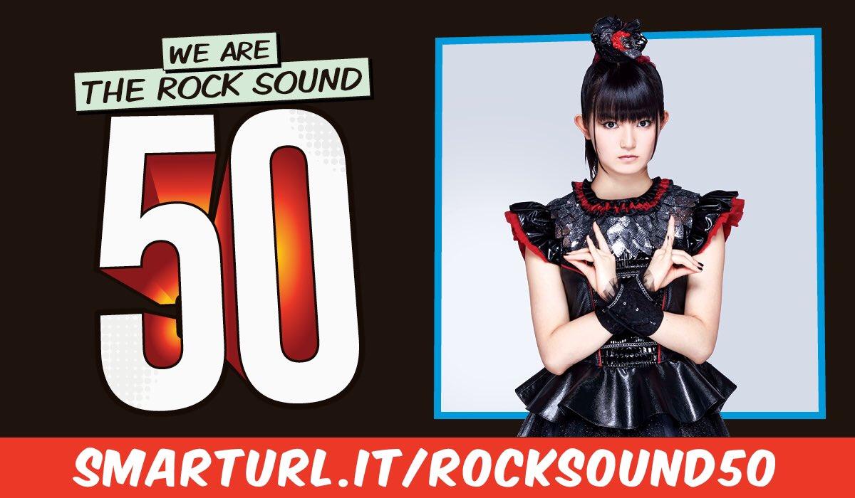 Rock Sound @rocksound 50! #rocksound #BABYMETAL https;//t.co/YXwY6HMvwU https;//t.co/ca2AMULbaX