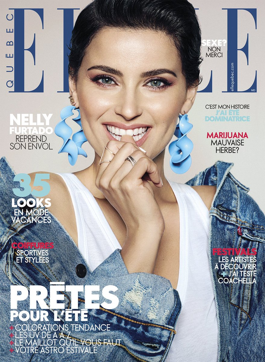 RT @NellyFurtadoPt: Nelly Furtado | Elle Quebec Magazine  https://t.co/A4hpQx0PFs @NellyFurtado @ElleQuebec https://t.co/QOchCW7ac7