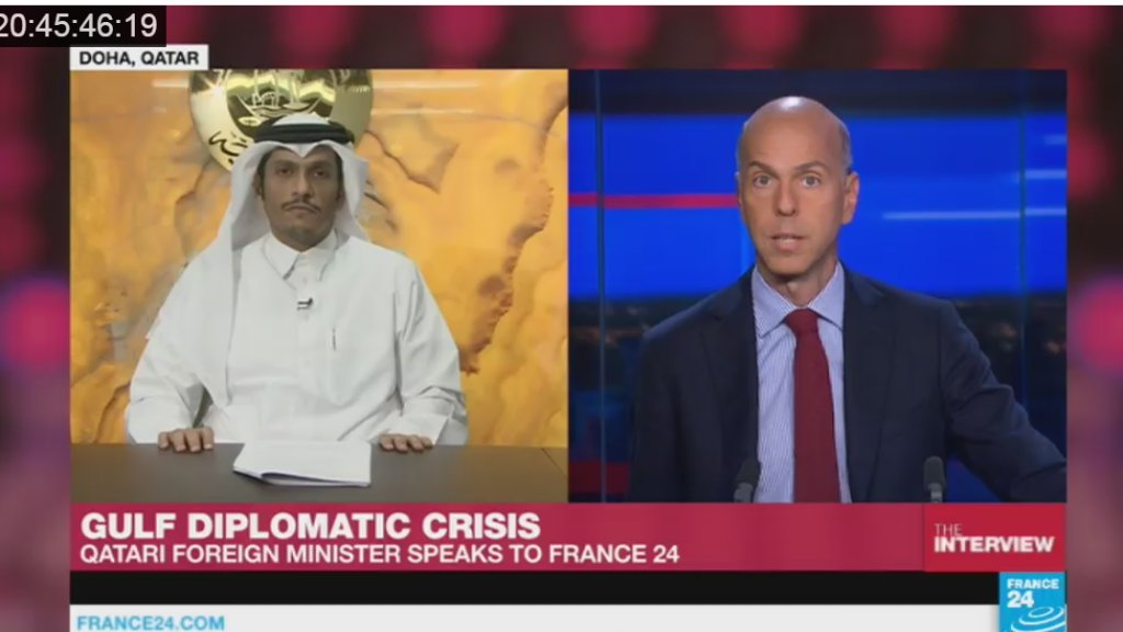 "Video: ""Accusations of terrorism are false,"" says Qatar's Foreign Minister"