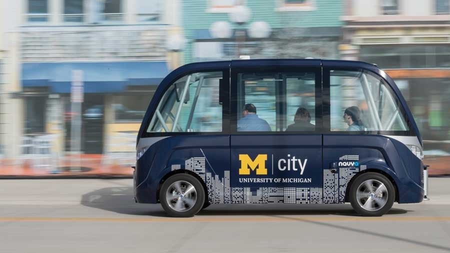 University of Michigan's self-driving buses will shuttle students across campus