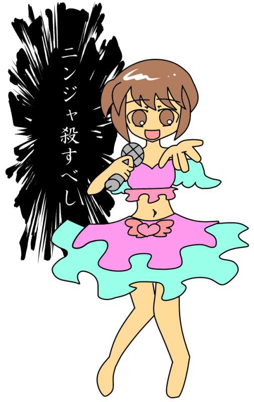 #1番目にリプきたキャラに2番目にきたキャラの服を着せて3番目にきたキャラのセリフを言わせる 艦これの吹雪ちゃんにアイド