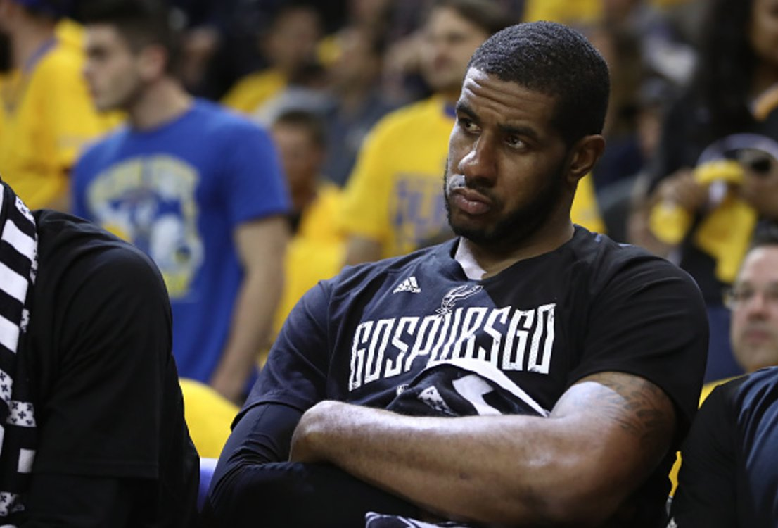 Spurs looking to receive top-5 pick in exchange for LaMarcus Aldridge, per @AmicoHoops