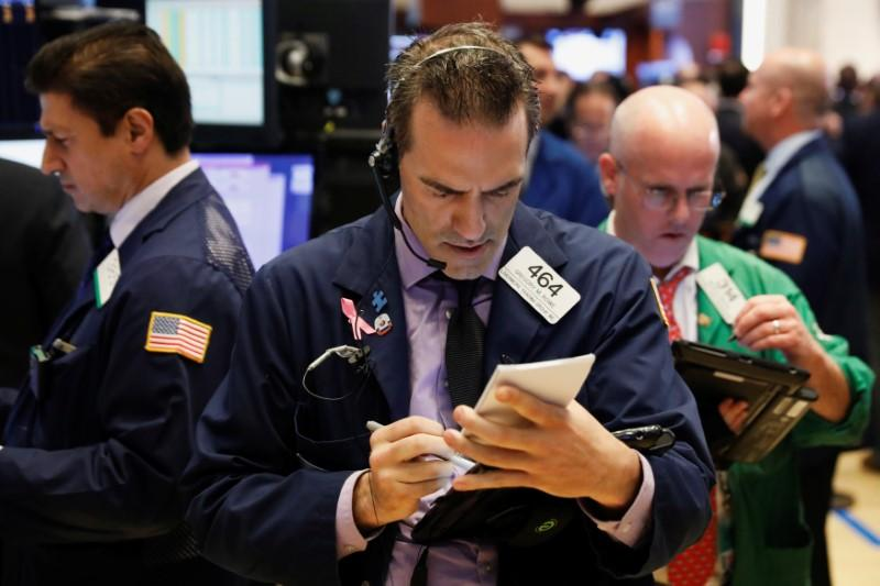 Gains in healthcare stocks lift Wall Street