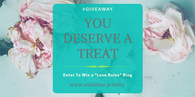 "It's Time for a ""Love Rules"" Interchangeable Ring GIVEAWAY!!!"